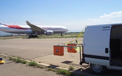 Référence géoradar - Aéroport Houari Boumédiène d'Alger