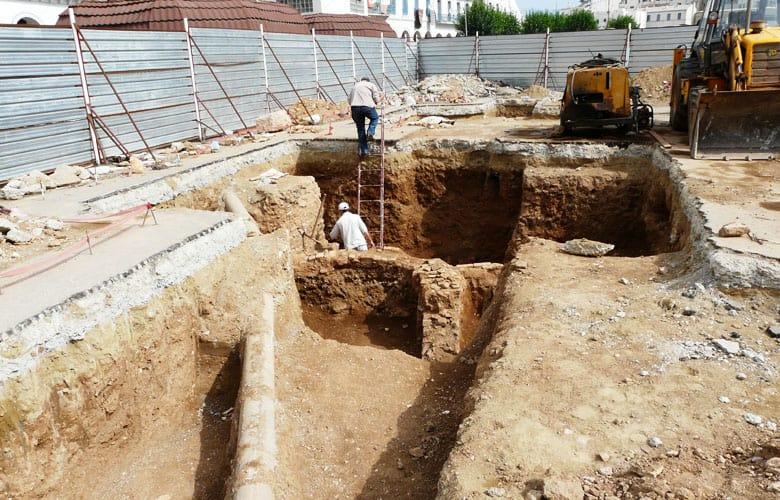 Archéologie, méthode géoradar