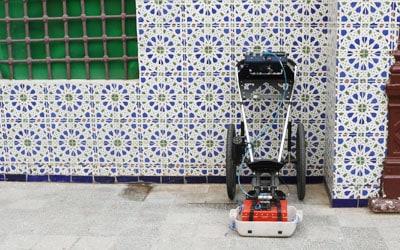Référence géoradar : mosquée Oran