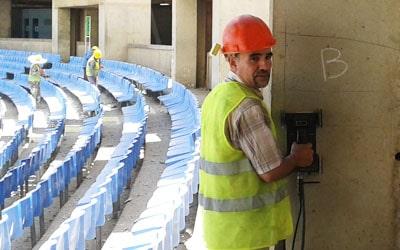 Référence géoradar Algérie : Stade du 5 juillet