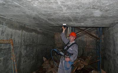 Référence géoradar béton - Bureau Veritas Complexe Urée Orascom
