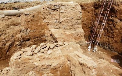 Référence géoradar pour l'archéologie, place des martyrs Alger