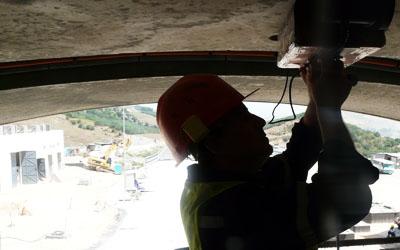 Référence géoradar tunnel COJAAL