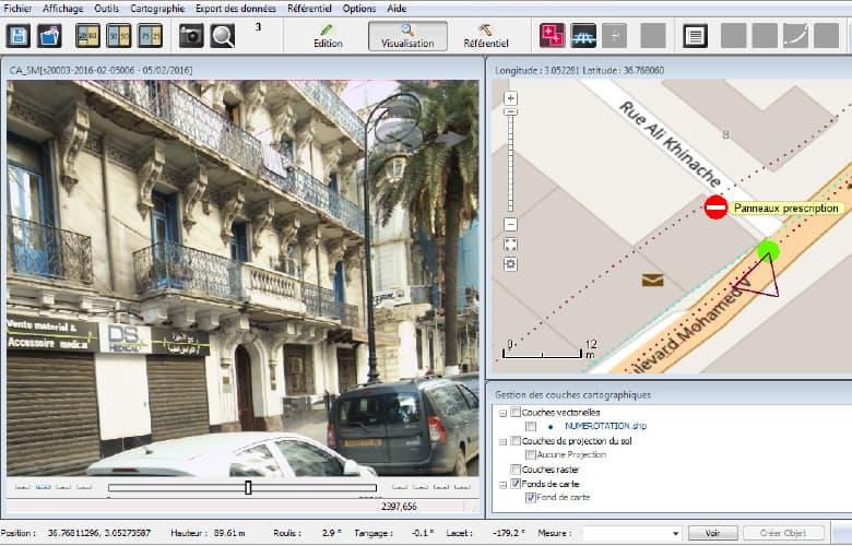 Relevé de patrimoine urbain : façades dégradées