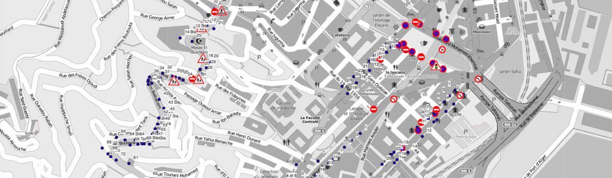 Relevé de patrimoine - Mobile Mapping
